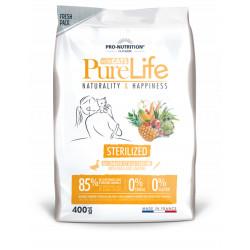 Croquettes chat sans céréales - Pure Life for Cats Sterilized