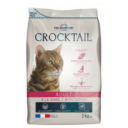 Croquettes chat - Crocktail Adult Dinde