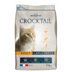 Croquettes chats de grande taille - Crocktail Adult Large Breed