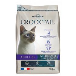 Croquettes chat- Crocktail Adult 8+ Light &/or Sterilized